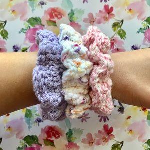 Handmade Scrunchies (Set of 3)